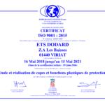 FRA - Certifcat ISO 9001 v2015-1